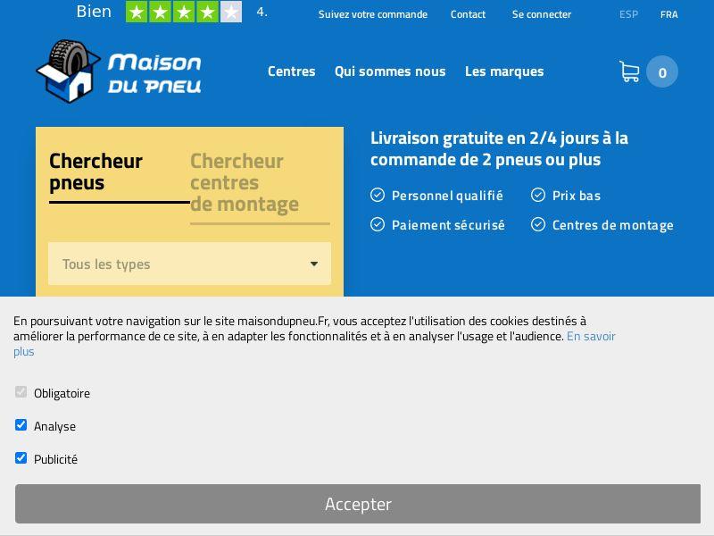 Maisondupneu - FR (FR), [CPS]