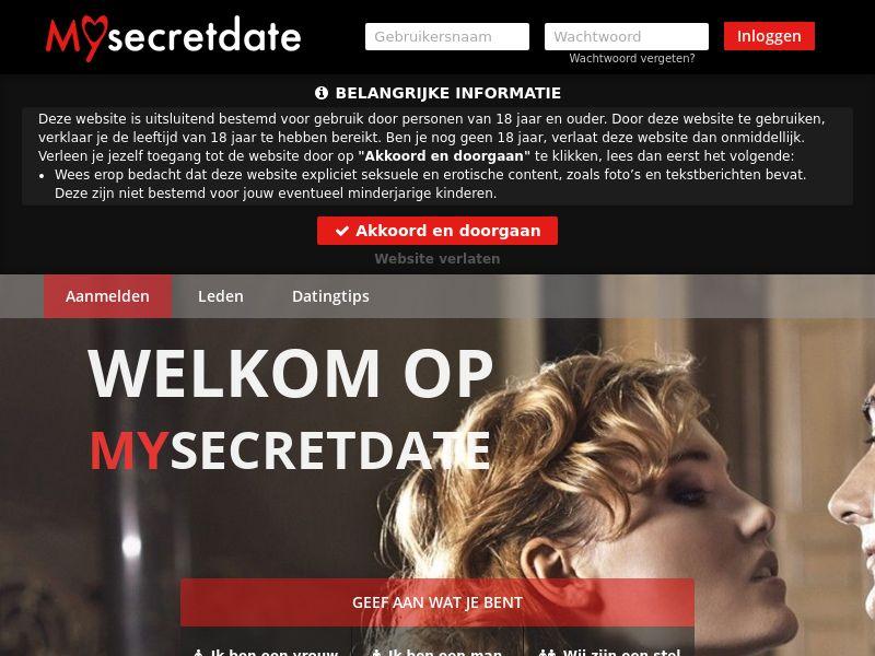 Mysecretdate - DOI - Desktop/Tab - NL/BE