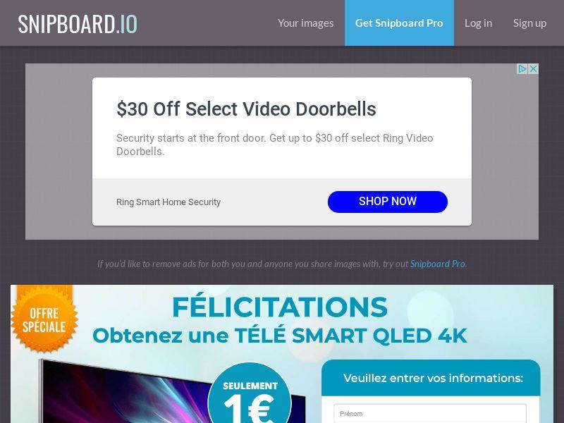 SteadyBusiness - Samsung QLED TV LP18 FR - CC Submit