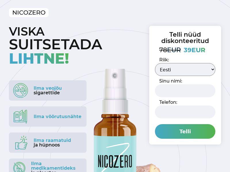 NicoZero EE - treatment for smoking