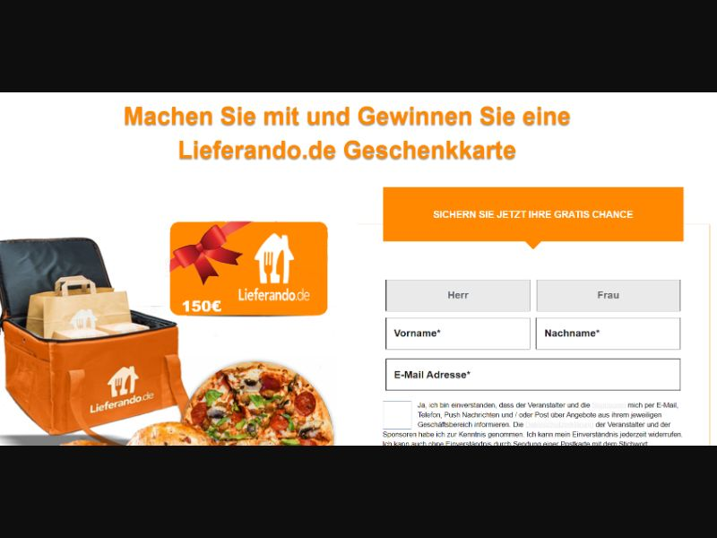 Lieferando SOI [DE] - SOI registration