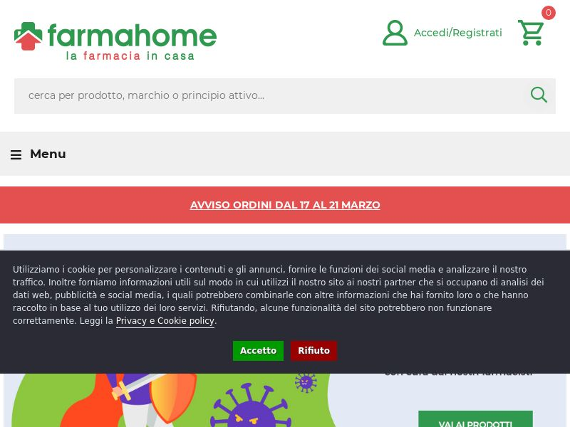 FarmaHome - IT (IT), [CPS], Health and Beauty, Cosmetics, Supplements, Medicine, Sell, coronavirus, corona, virus, keto, diet, weight, fitness, face mask