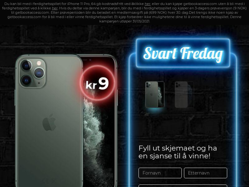 Black Friday iPhone 11 pro v1 NO -CC Submits