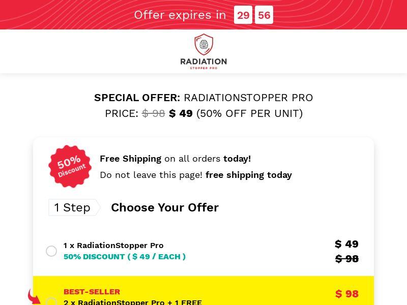RadiationStopper Pro INTL - All Languages