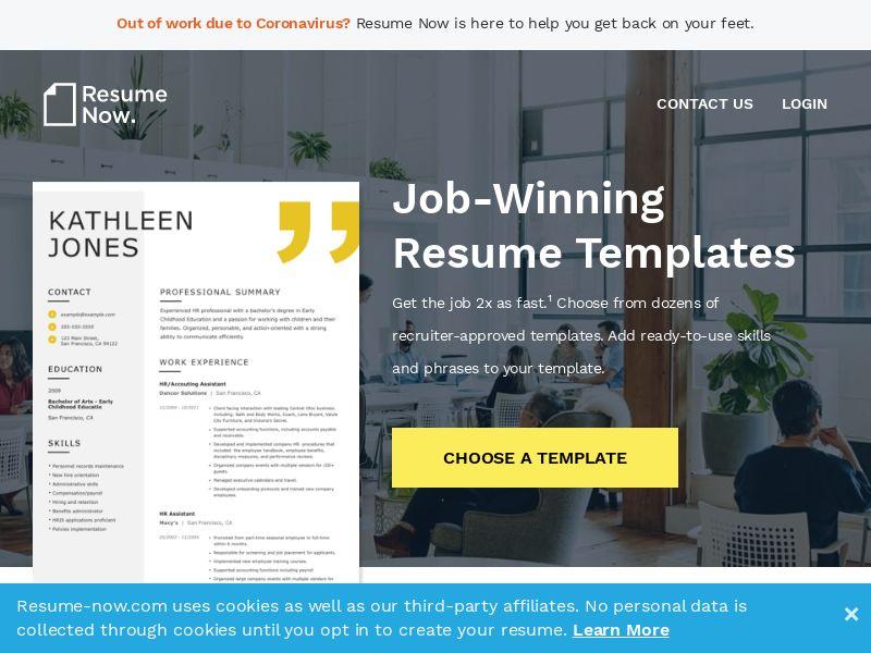 Resume Now - resume-now.com - US