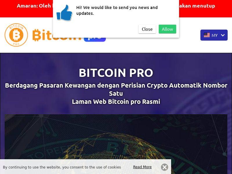 Bitcoin pro Malay 2311