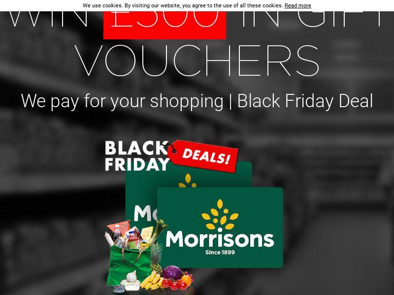 Morrisons 500 Black Friday Voucher - UK