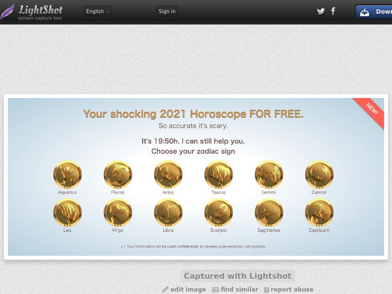 Chris Horoscope AU Push traffic 0,8$