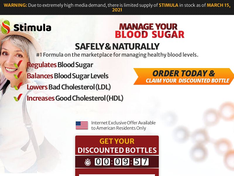 Stimula Blood Sugar - SS (US)