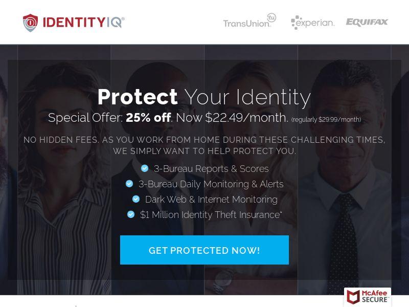 Identity IQ / identity Essentials (COVID 19 - 25% Offer)
