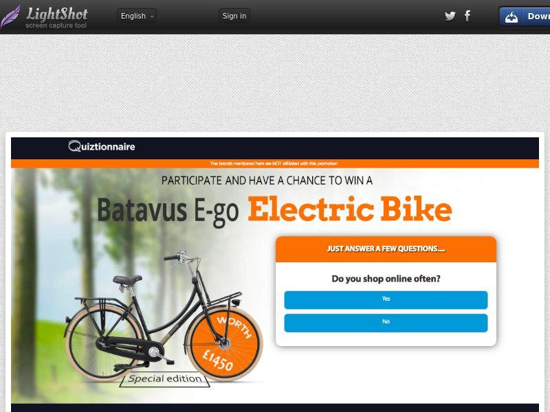 E-Bike *Exclusive* (NL)- SOI- CPL