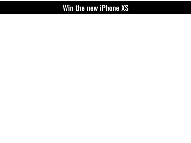 Sweepstake Iphone XS - CPL - [AU]