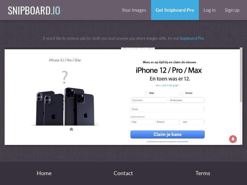 38181 - BE - NectarContests - iPhone 12 (dutch) (No Prelander) - SOI
