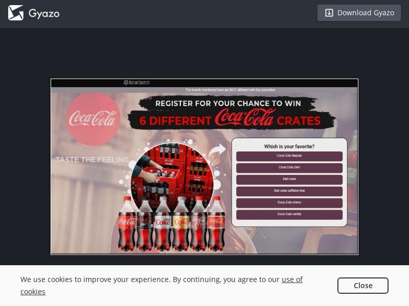 Coke Voucher (UK) (CPL)
