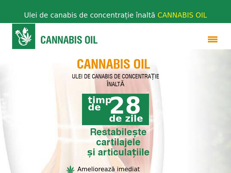 Cannabis Oil RO(joints)