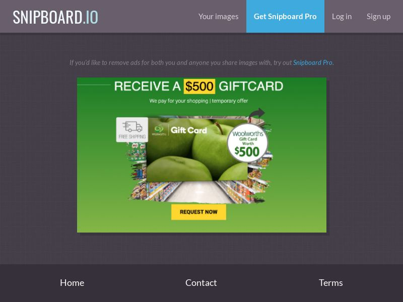 Leadswinner - Woolworths Giftcard - Mobile and Desktop - AU (SOI)
