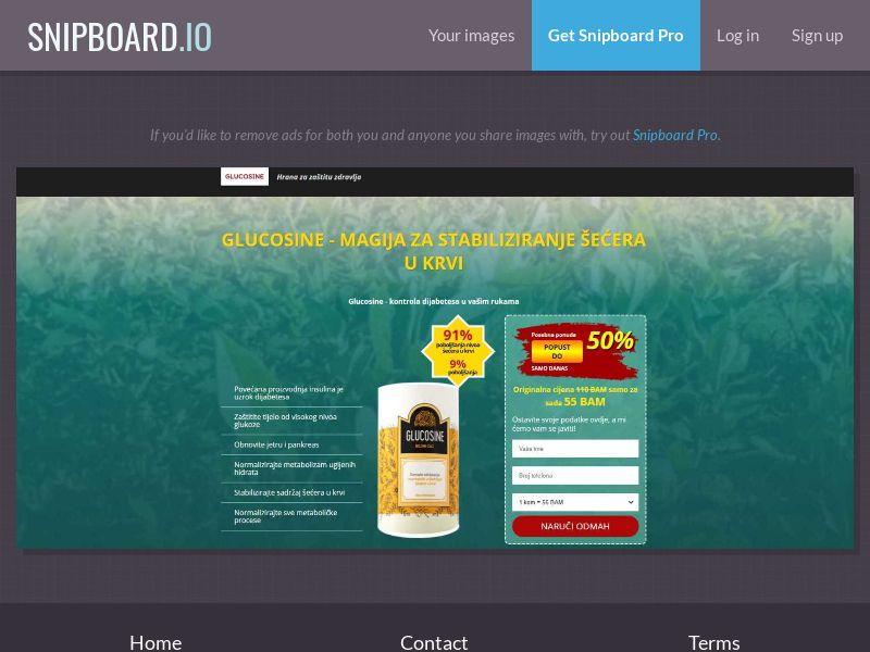 38337 - BA - Glucosine: Sales Page 1 - COD