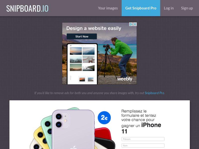 BigEntry - iPhone 11 v1 FR - CC Submit