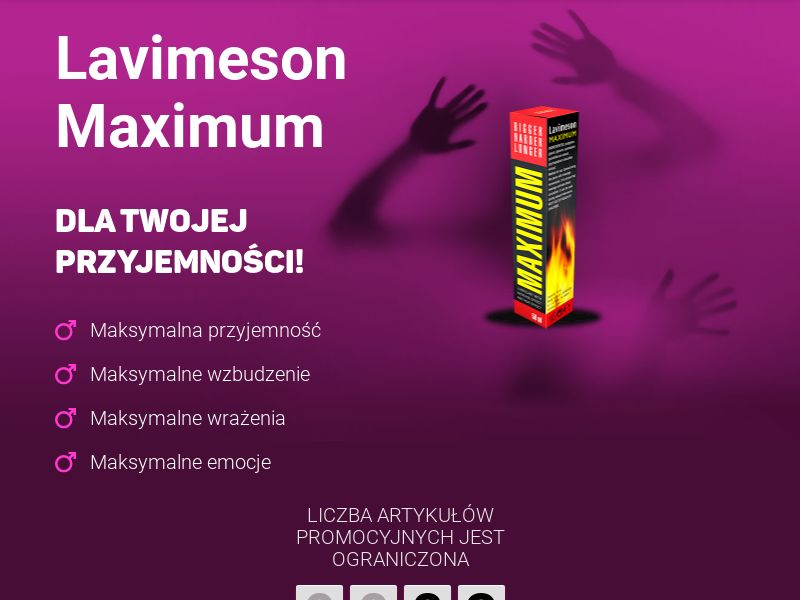 Lavimeson Maximum PL