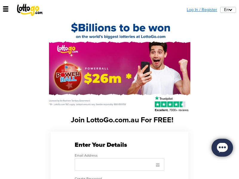 LottoGo - Powerball 10 Tickets For $2 [AU]