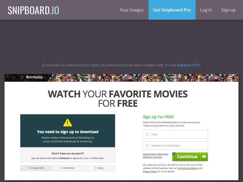 BoinkPlay - VOD Movies (ES) (Trial) (Personal Approval)