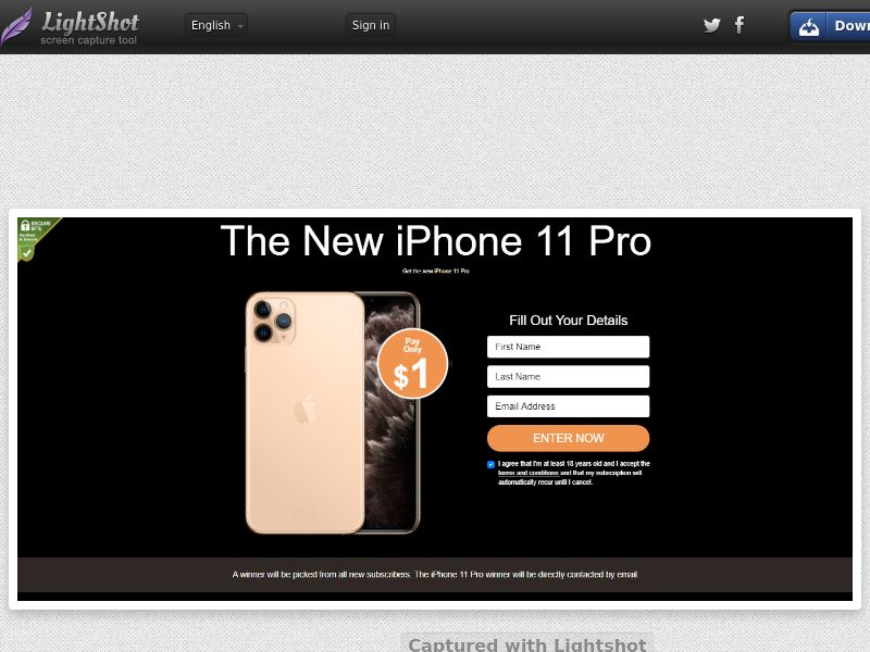 Socialmediago - Iphone 11 Pro (US) (Trial) (Personal Approval)