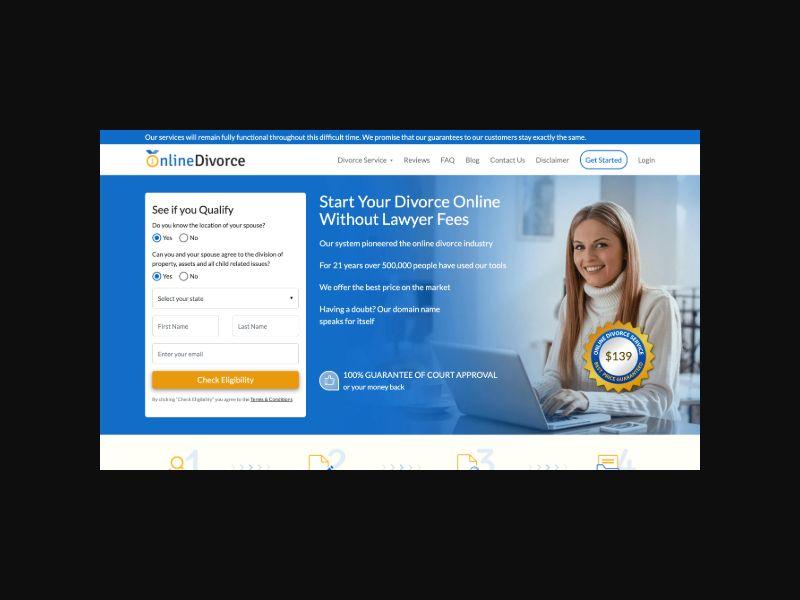 Online Divorce | File For Divorce (US)