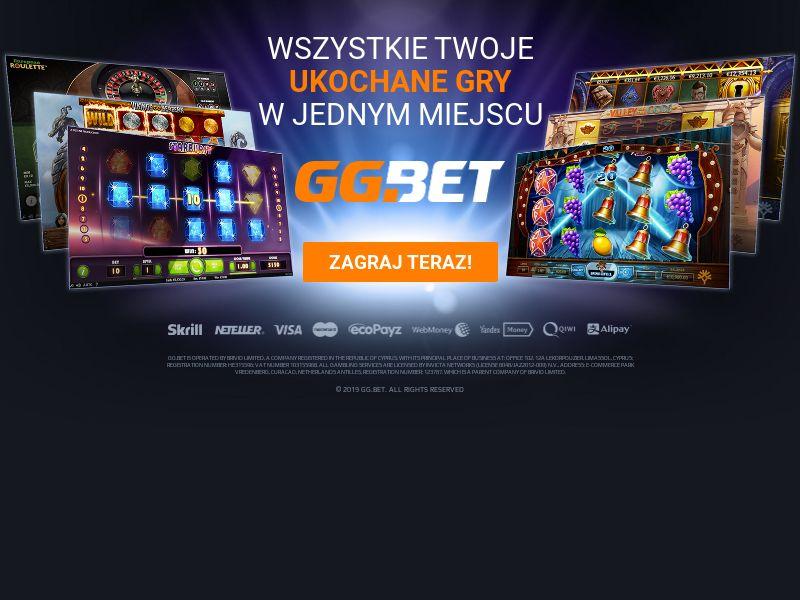 GG.bet - Casino - CPA - Desktop & Mobile - PL