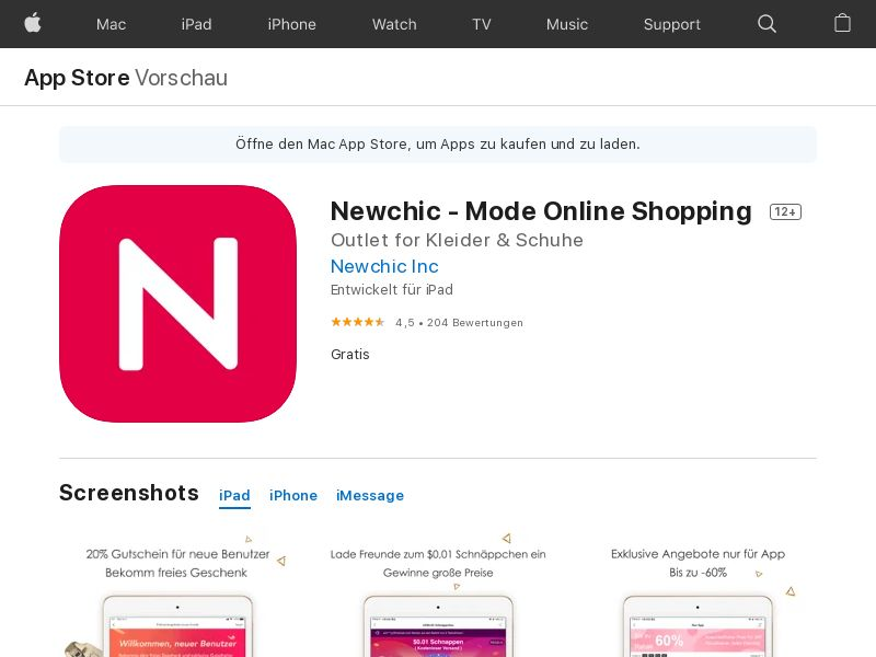 Newchic - IOS - FR (CPS=purchase)