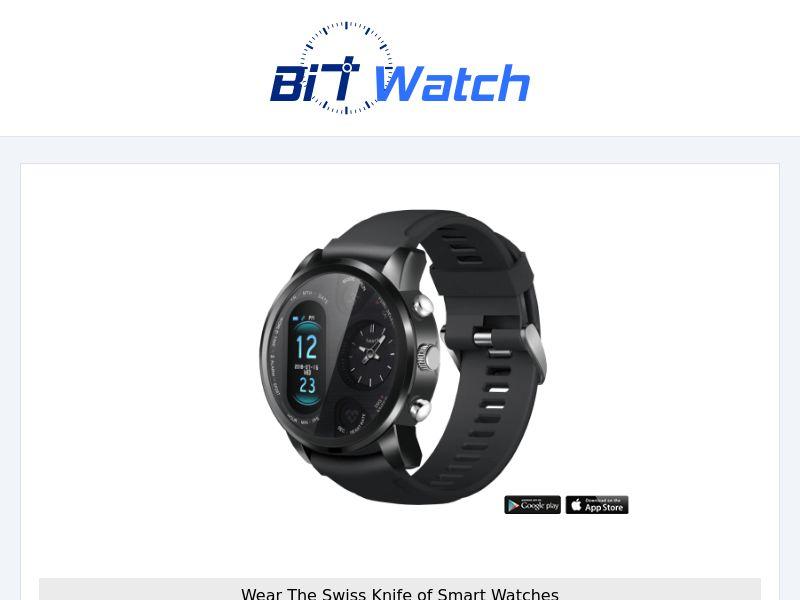 BIT WATCH - Smartwatch - CPA - [INTERNATIONAL]