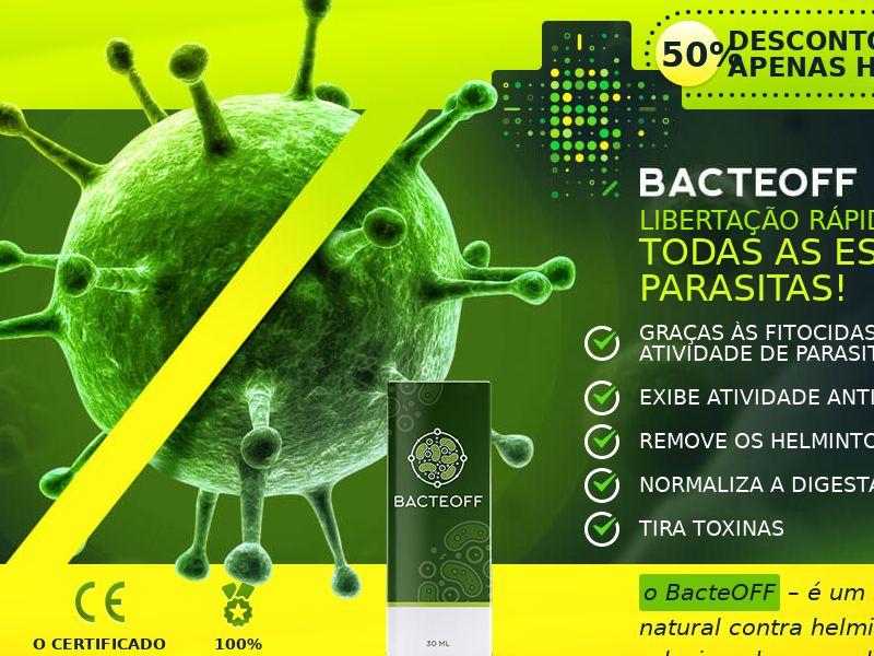BacteOFF PT - anti-parasite product