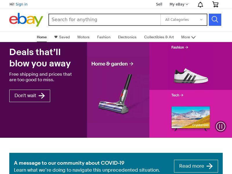 eBay Many Geos CPA