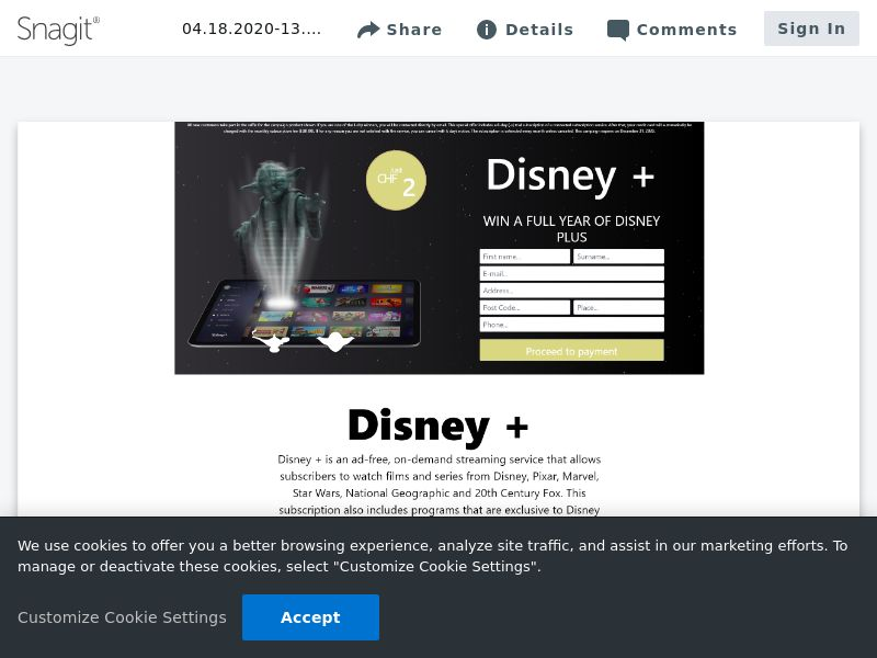 feelinglucky Win Disney Plus | FR