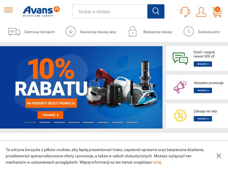 Avans (PL), [CPS], Appliances and Electronics, Hardware, Telephones and accessories, Audio and video, Household goods, Sell, shop, gift