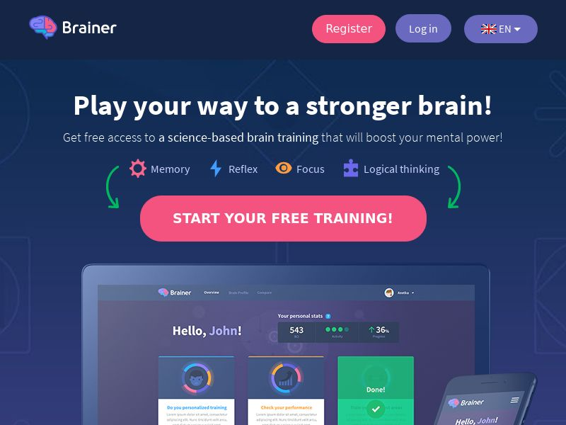 Brainer - 7 Day Free Trial CPL [UK]