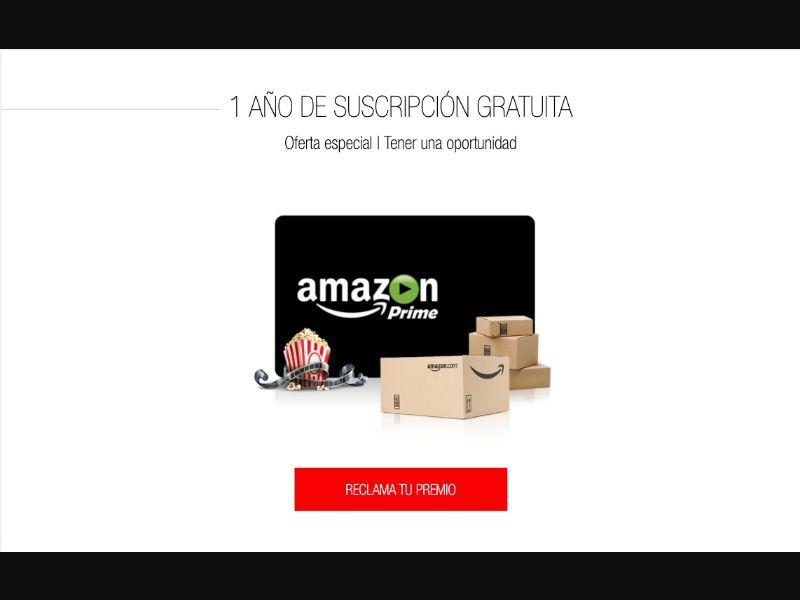 Amazon Prime - CPL SOI - ES - Sweepstakes - Responsive
