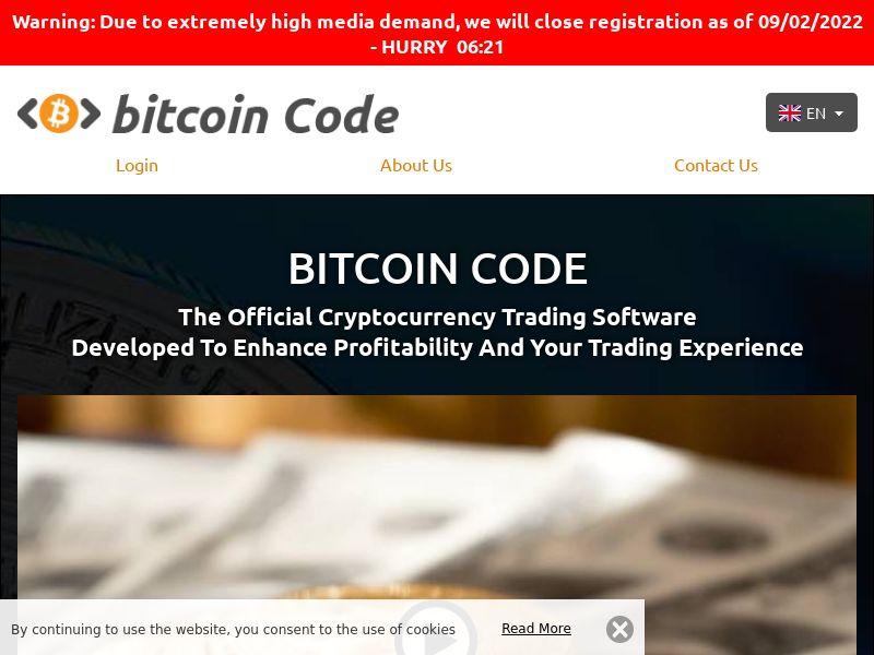 Bitcoin Code Experts English 1112