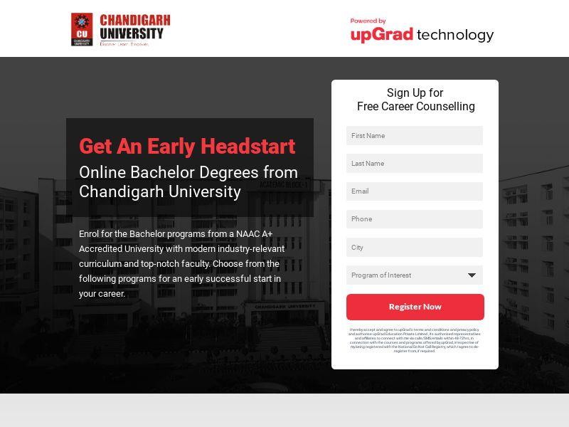 Upgrad.com Chandigarh University CPL - India