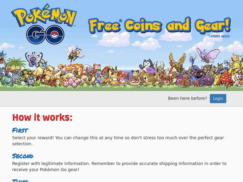 *EXCLUSIVE* Pokemon GO - Get Free Pokecoins & More - CPE   US