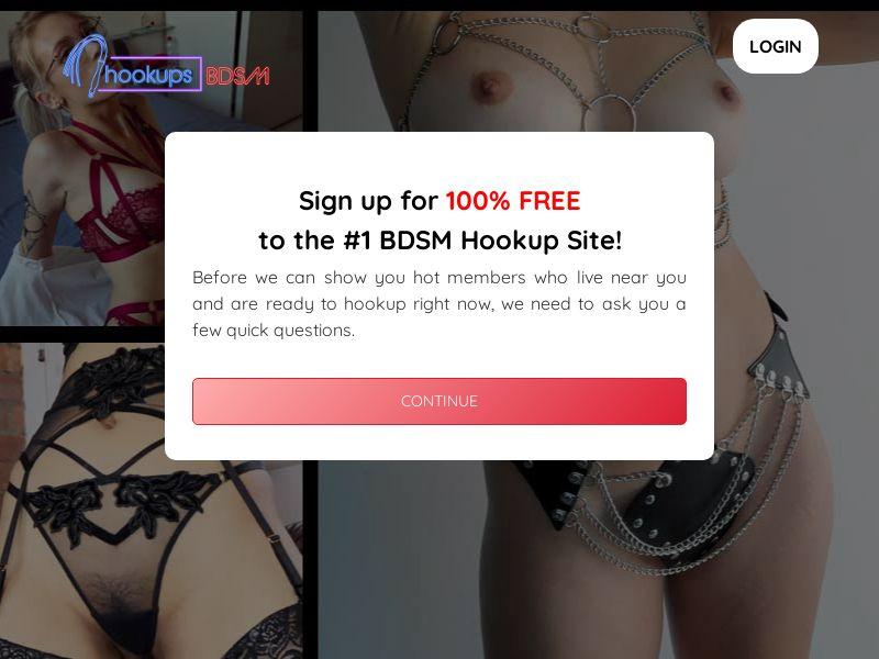 HookupsBDSM.com - Direct Advertiser - Adult Dating - PPS - US, CA, UK, NZ, AU