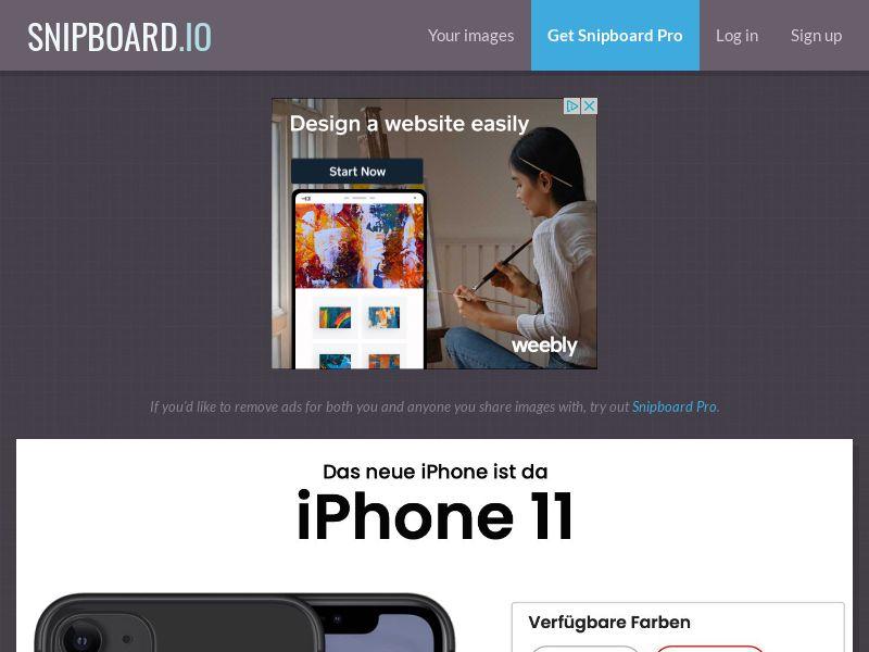 SteadyBusiness - iPhone 11 LP25 DE - CC Submit