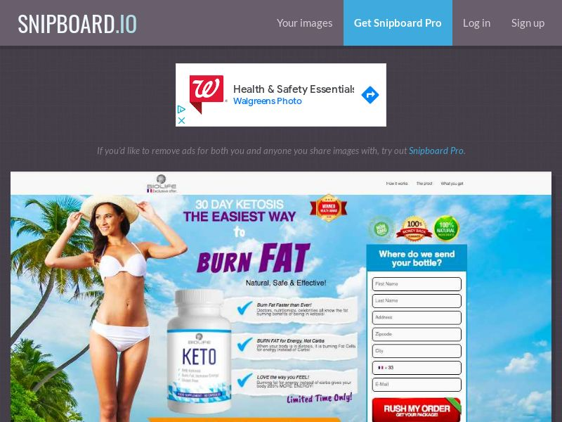 Nutra - BioLife Keto Cleanse FR - 2 Step CC Submit