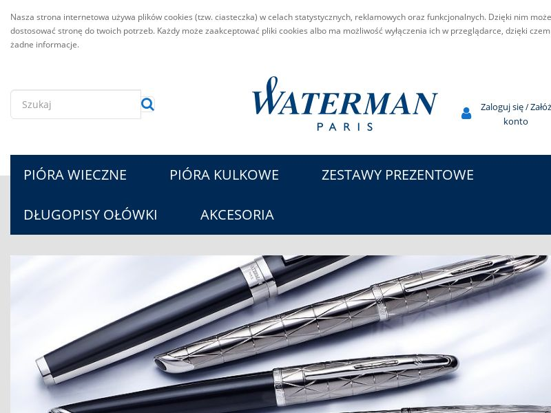 Waterman - PL (PL), [CPS], Accessories and additions, Presents, Sell, shop, gift