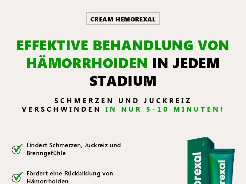 Hemorexal CH - hemorrhoids treatment