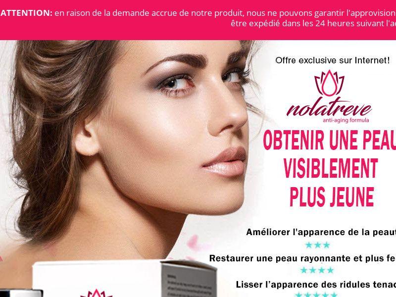 Nolatreve Anti Aging Skin Cream - (FR)