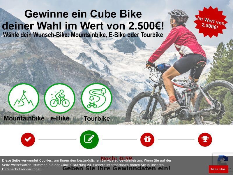 Cube EBike 2500€ DE SOI (WEB) Non Incent