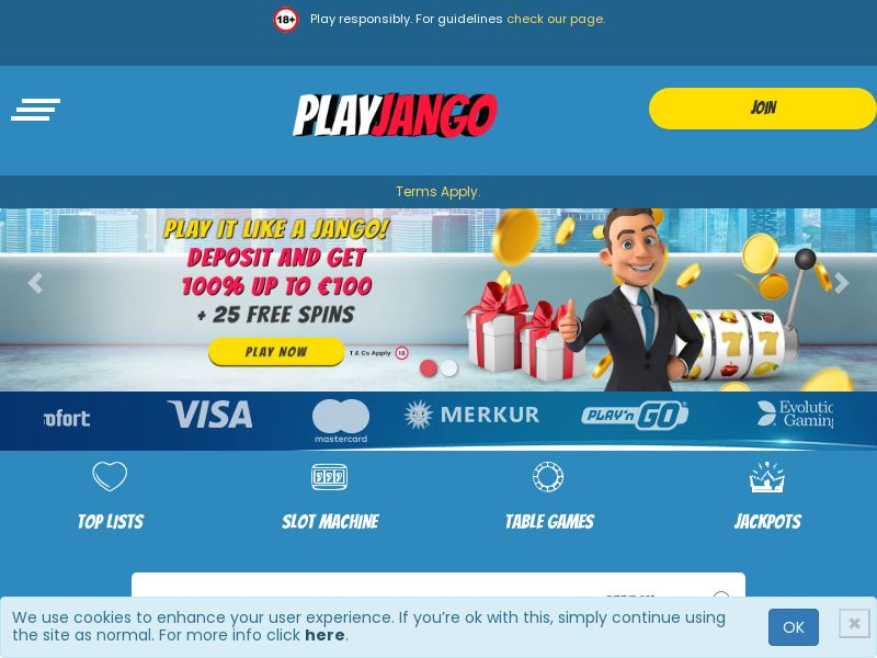 Play Jango (CA, IE) (CPS) (Personal Approval)