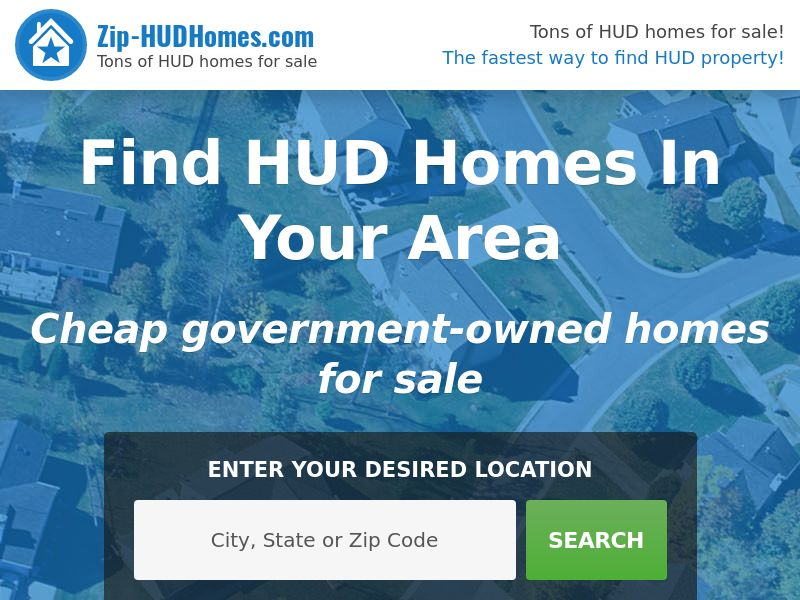 Find HUD Homes (Display Traffic)