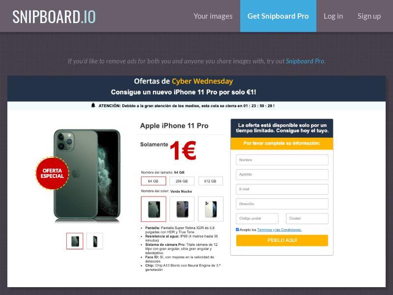 38859 - ES - SteadyBusiness - iPhone 11 Pro (LP 22 Amazon) - CC submit GASMOBI EXCLUSIVE