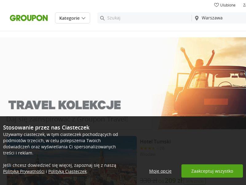 Groupon - Travel (PL), [CPS]